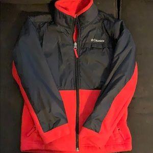 Boys Columbia zip up jacket sz small (8)
